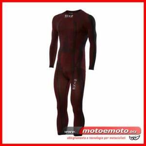 Sottotuta-Intero-Sixs-Carbon-Stx-DR-Rosso-Estivo-Invernale-Pista-Moto-Sci