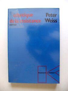 PETER-WEISS-ESTHETIQUE-DE-LA-RESISTANCE-ROMAN-KLINCKSIECK-ESTHETIQUE-1989