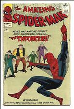 AMAZING SPIDER-MAN # 10 (1ST APP. BIG MAN & THE ENFORCERS, MAR 1964), VG
