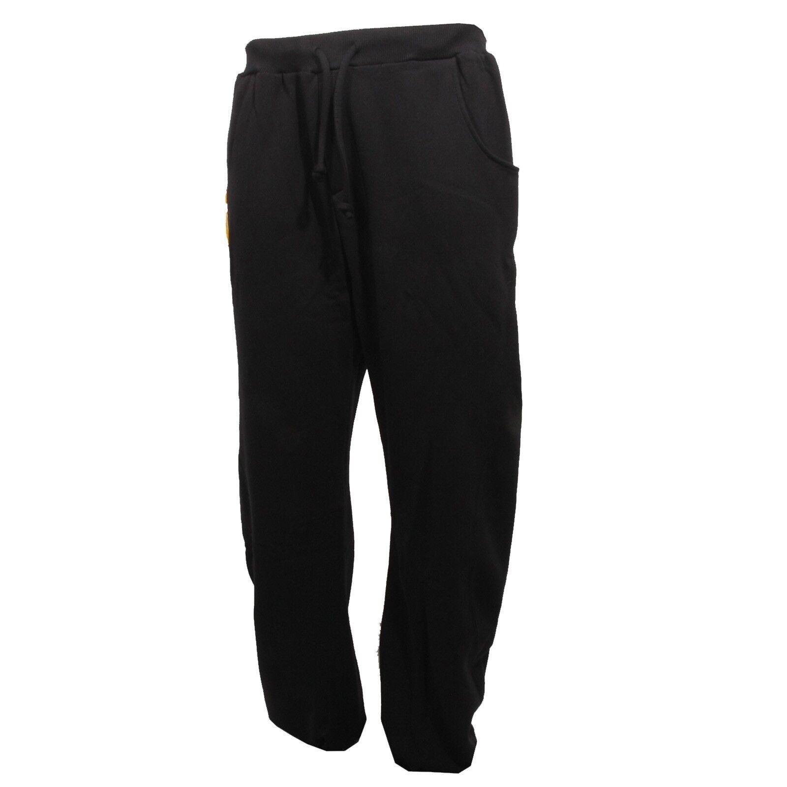 B0837 pantalone tuta schwarz schuhe. trousers men gym