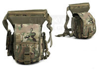 Military Tactical Drop Leg Bag Tool Fanny Thigh Pack Panel Utility Waist Pouch