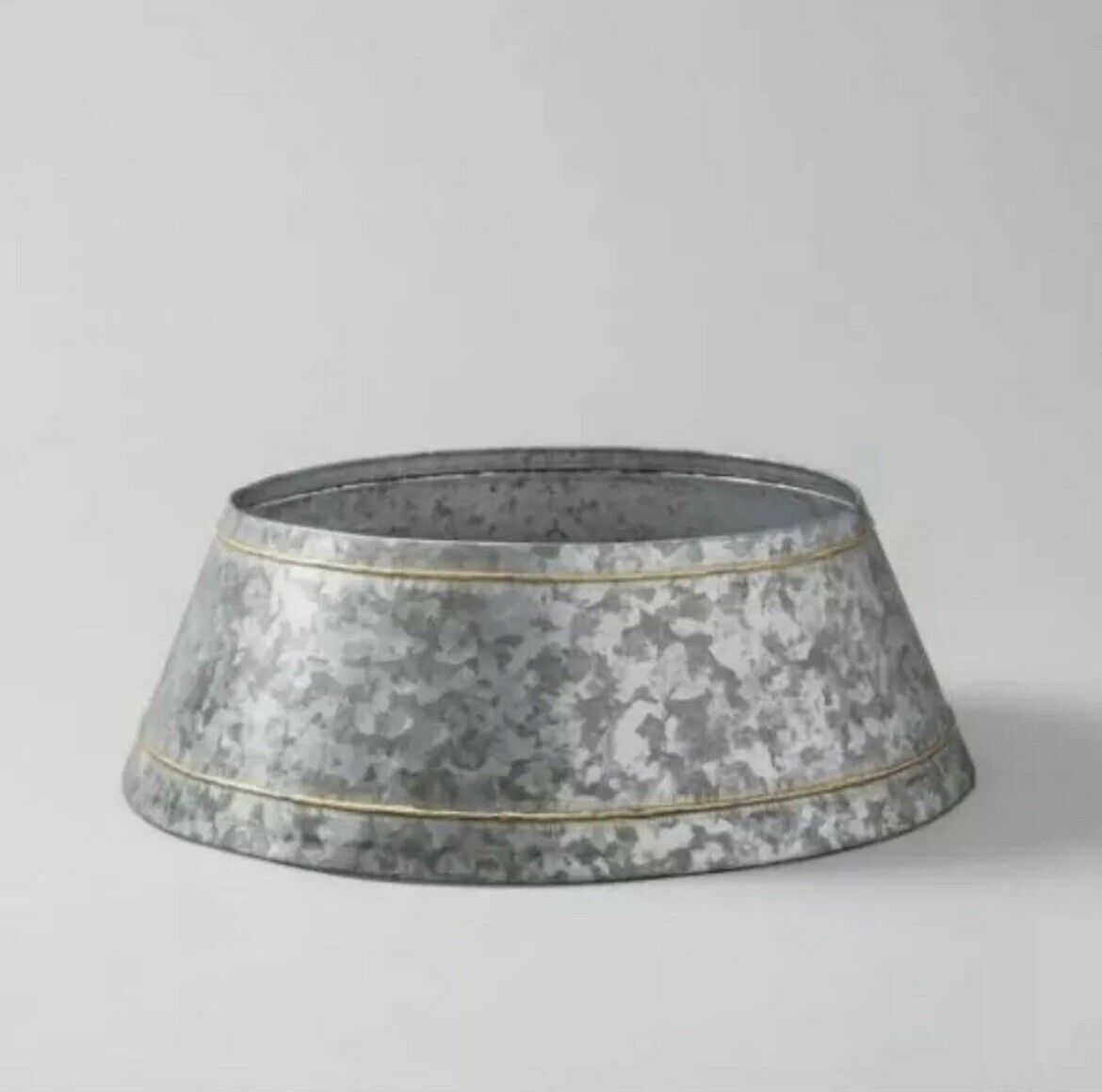 Hearth Hand With Magnolia Galvanized Christmas Tree Collar Skirt Joanna Gaines For Sale Online