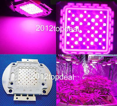 50W Multiband 7-band Full Spectrum High Power LED Plant Grow Light 380nm-730nm