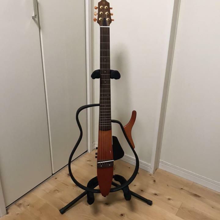SLG-100S Yamaha silent guitar Japan antique retro popular beautiful EMS F   S