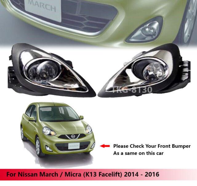 Spot Fog Light Lamp Kit For Nissan March    Micra  K13