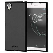 Amzer Matte Hybrid TPU Soft Protective Rubber Case Cover Skin for Sony Xperia L1