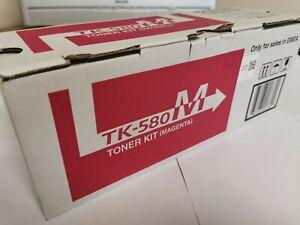 Genuine Original Kyocera TK-580 Magenta Toner Cartridge, Free Delivery