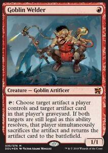 FOIL-Saldatore-Goblin-Goblin-Welder-MTG-MAGIC-DDU-EvI-Elves-vs-Inventors-Eng