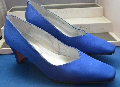 Satin Elegant Blue new 6 Eu Ivory 39 Bond Uk Shoes Designer fE1qqxXwF