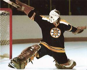GILLES-GILBERT-BOSTON-BRUINS-NHL-HOCKEY-8X10-GOALIE-PHOTO