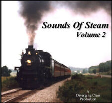 Train Sounds On CD: Sounds Of Steam, Volume 2