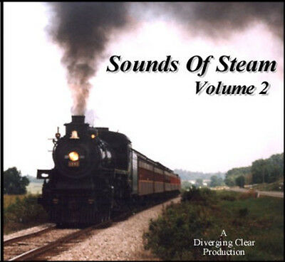Train Sounds On CD: Sounds Of Steam, Volume 2 | eBay
