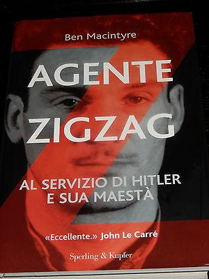 AGENTE ZIGZAG Ben Macintyre 2008 spionaggio II° guerra mondiale ZIG ZAG thriller