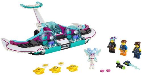 LEGO THE LEGO Movie 2 Wyld-Mayhem Star Fighter 70849 Toy Spaceship Building Set