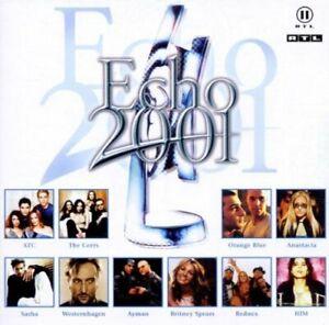Echo-2001-Deutscher-Schallplattenpreis-Corrs-Anastacia-HIM-Jeanette-2-CD