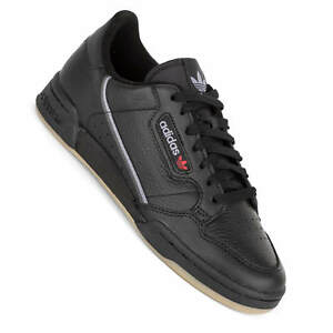 Adidas Men s Shoes Continental 80 Black Retro Tennis Sneaker BD7797 ... 51f262563