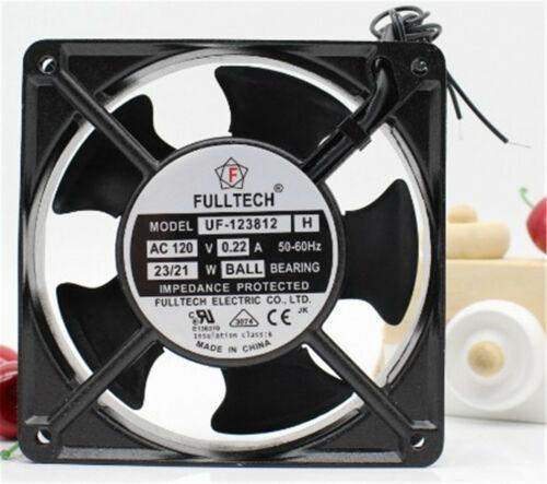 1pcs FULLTECH COOLING Fan UF-123812 UF-123812H 115V 0.22A 12CM