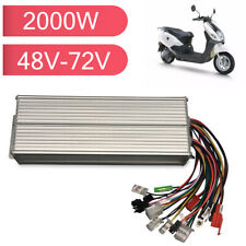 Dc 48 72v Max 50a 2000w Motor Speed Controller Brushless E Bike Scooter Motor