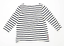 George-Womens-Size-12-Striped-Cotton-White-T-Shirt-Regular thumbnail 2