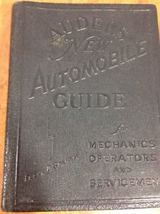 1942 audels new automobile guide for mechanics operators and rh ebay com Audels Books Audel Millwright
