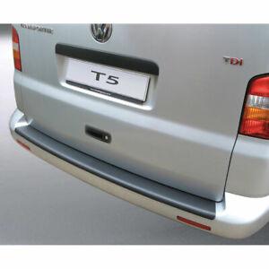 Fits 2003-2015 T5 Transporter//Caravelle//Multivan Chrome Rear Bumper Protector Guard S.Steel
