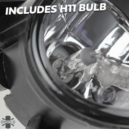 Pare-chocs Avant Feux de Brouillard Paire Pour NISSAN Navara NP300 Spot Lampe Set Kit Ampoule D23