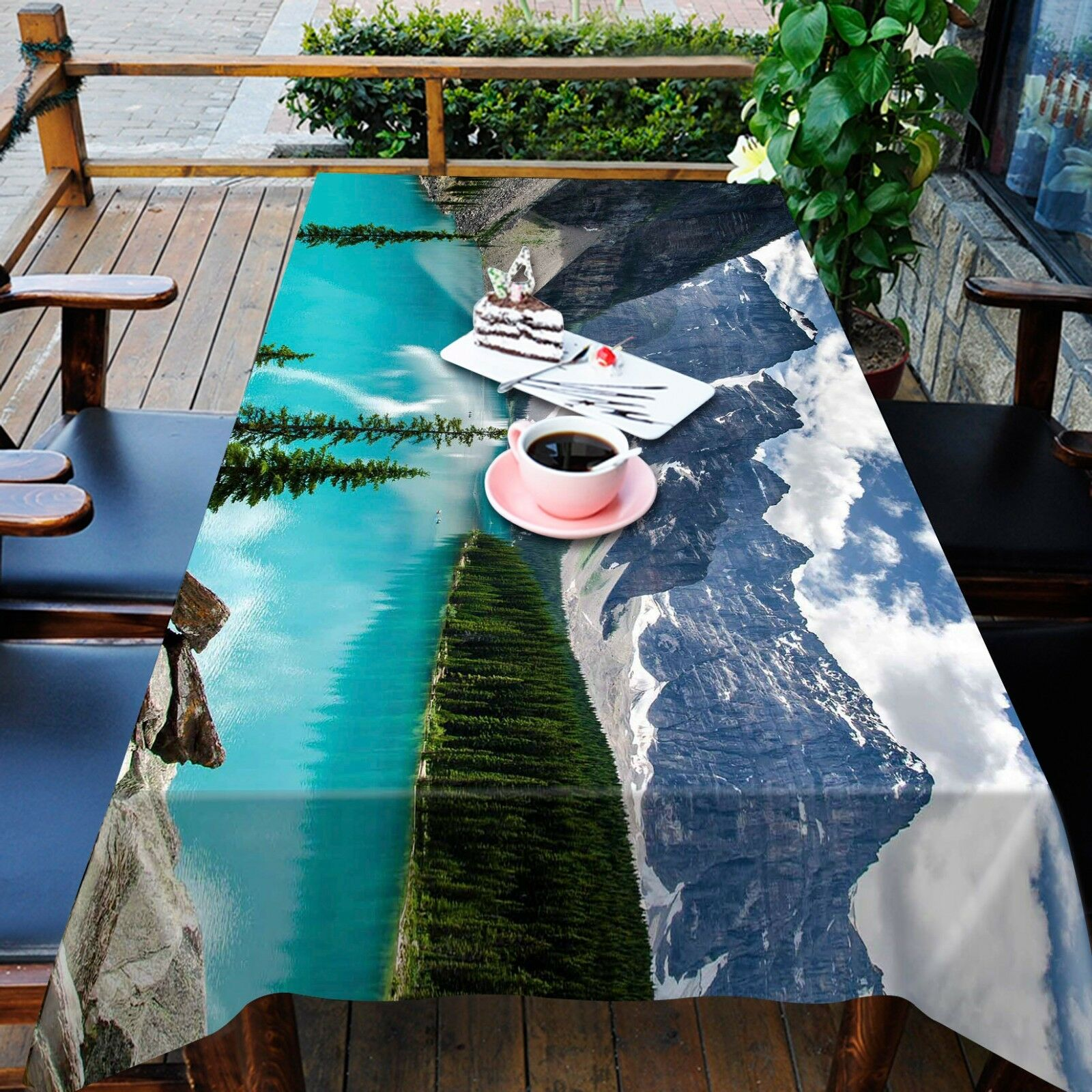 3D Lake bluee88 Tablecloth Table Cover Cloth Birthday Party Event AJ WALLPAPER UK