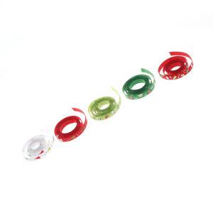 1M-Red-green-Printed-Snowflake-Xmas-tree-Satin-Ribbon-Christmas-Gift-Ribbons-IO