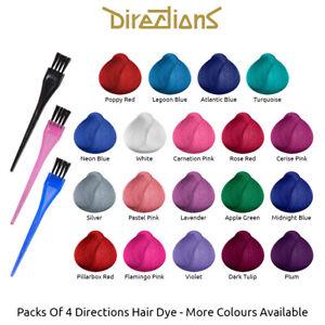 4-Confezioni-Di-Tinte-Per-Capelli-Volume-88ml-La-Riche-Directions-Hair-Dye-Color