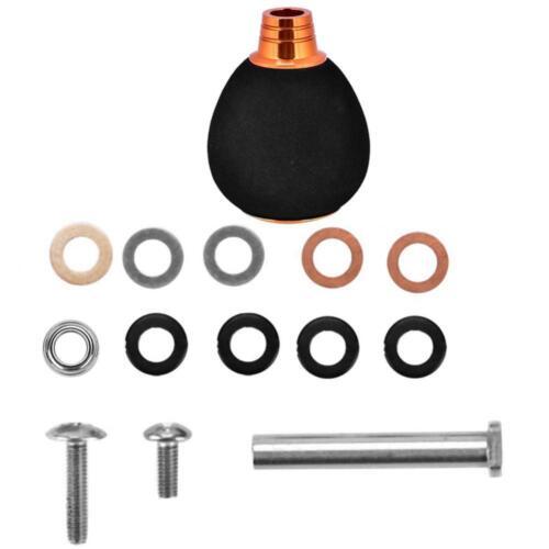 en métal po Bouton durable de puissance de poignée de moulinet de pêche d\/'EVA