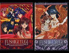 Fushigi Yugi: The Mysterious Play - Complete Season 1 & 2 - Brand New DVD Sets