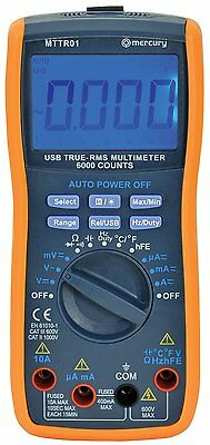 True RMS Multimeter with USB Interface Software Supplied Multitester