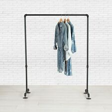 Industrial Pipe Clothing Rack By William Roberts Vintage