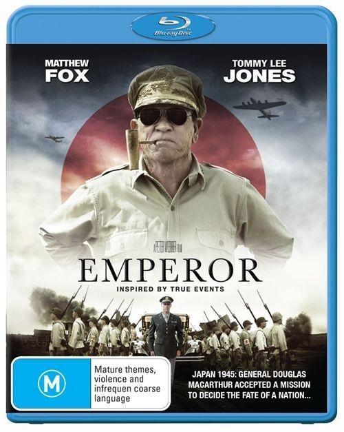 Emperor (Blu-ray, 2013)*Terrific Condition*Tommy Lee Jones*