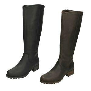 4f0972fe478e Image is loading Ladies-Clarks-Knee-High-Boots-039-Marana-Trudy-
