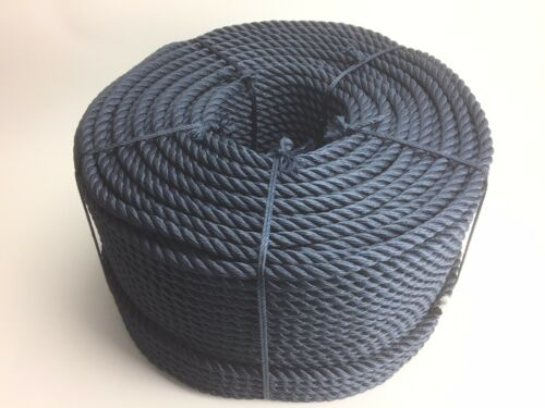 12mm Softline Rope x 220 Metre Coil, Navy Blue, Yacht, Sailing, Boats, Marine
