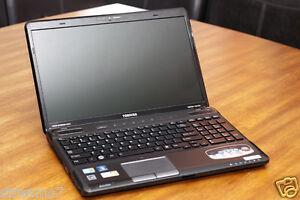 toshiba satellite a665 16 core i3 2 4ghz laptop pc w 640gb 4gb rh ebay co uk Toshiba Satellite C655 Toshiba Satellite C655