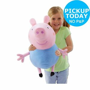 Details About Peppa Pig 18 Inch Plush George 18 Months