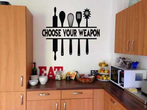 Kitchen Wall Decal Vinyl Lettering Wall Art Sticker Home /& Living Kitchen Decor