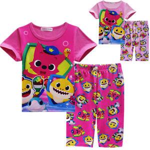 Baby Shark Girls Pyjamas