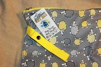 Planet Wise Wet Bag Hedgehog Dirty Smelly Stuff Bag It Travel Swim Gym Baby Surf