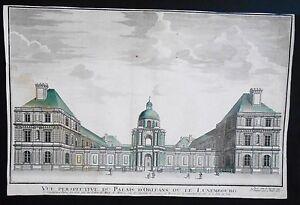 Image is loading Vue-d-039-optique-eighteenth-palais-du-luxembourg- 1b8501828045