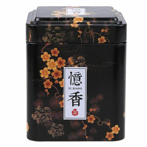 Retro Metal Jar Tin Tea Caddy Sugar Holder Container Sealed Storage Box Can Gift
