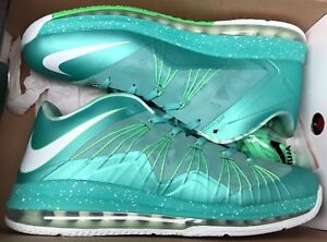 new product aeb39 f7099 Image is loading Nike-Air-Max-Lebron-X-10-Low-Easter-