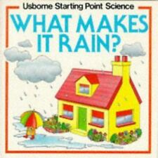 What Makes It Rain? (Usborne Starting Point Science)-ExLibrary