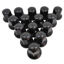 Lampa Radmutterkappen in schwarz 30 mm 60 Stück