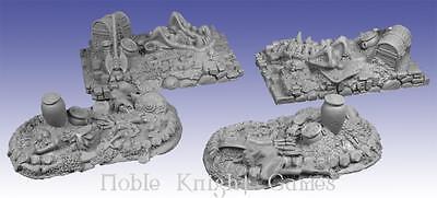 Scotia Grendel Fantasy Mini Resin 25mm Treasure Piles #2 Pack MINT