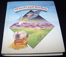 Vintage 1985 Wheels and Rockets  by Focus Reading for Success