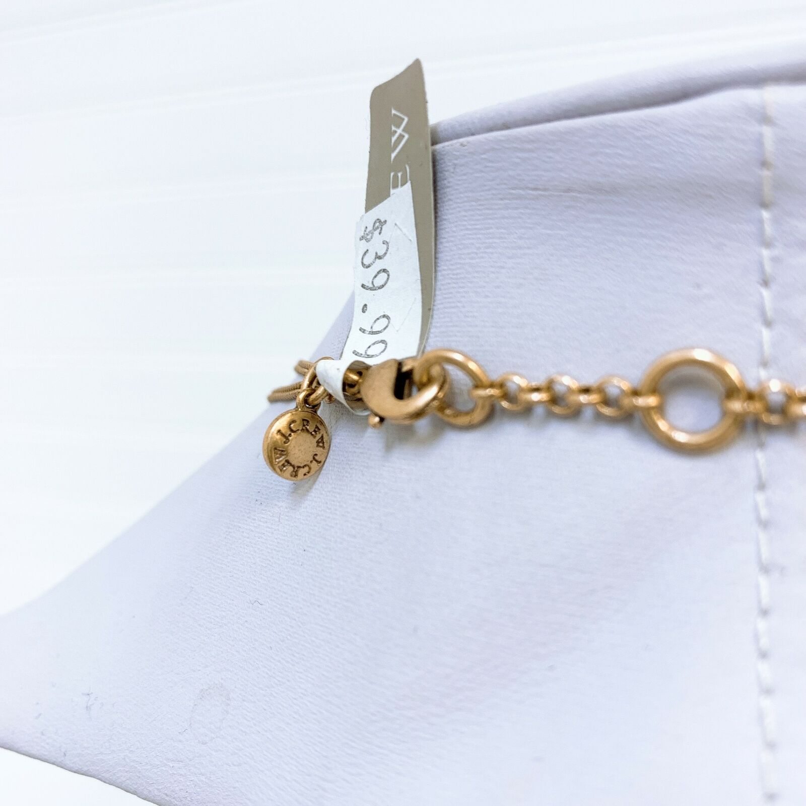 *NWT J. Crew Gold Necklace Chain Links One Size