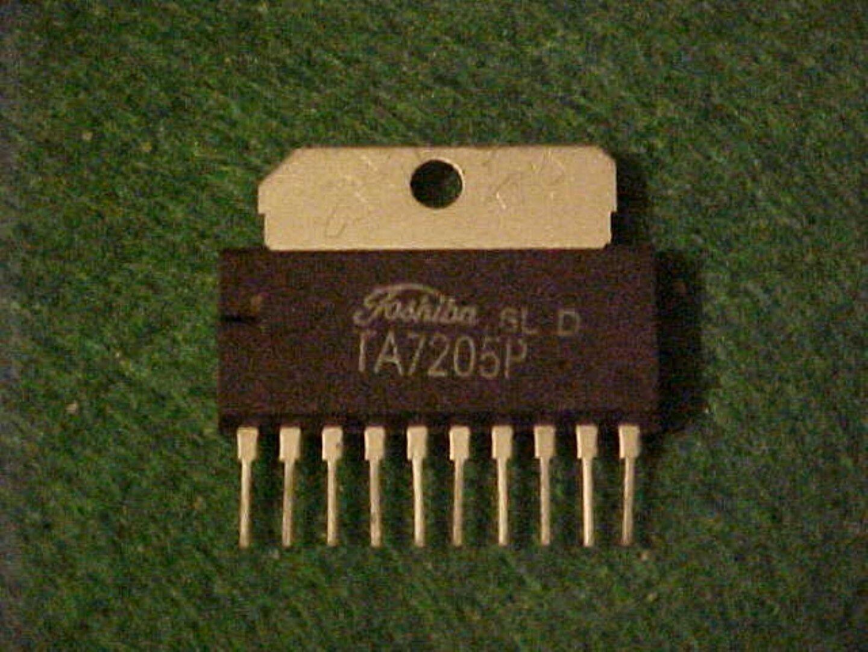 Ta7205p X 2 58 Watt Power Audio Ic Toshiba Car Stereo Cb Radio Ebay Circuit Amplifier 595x476 Lm386 Norton Secured Powered By Verisign